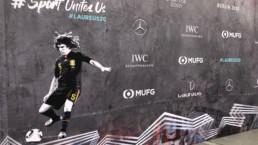 Laureus world sports awards ceremony puyol branding red carpet 2020 mindcorp london