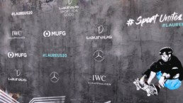 Laureus world sports awards ceremony tony hawk branding red carpet 2020 mindcorp london
