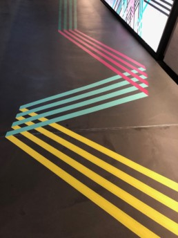 Laureus world sports awards verti hall stripes branding red carpet 2020 mindcorp london