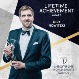 Laureus world sports awards novak djokovic social post branding 2020 mindcorp london