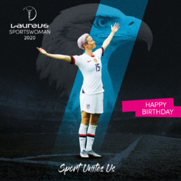 Laureus world sports awards social post branding 2020 mindcorp london
