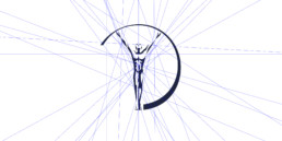 Laureus visual language emblem breakdown lines mindcorp london