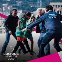 Laureus sport for good branding mindcorp london