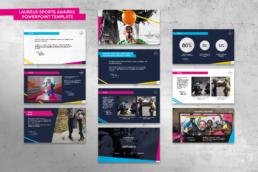 Laureus Sport For Good Powerpoint Template mindcorp london
