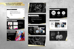 Laureus World Sports Awards Powerpoint Template mindcorp london