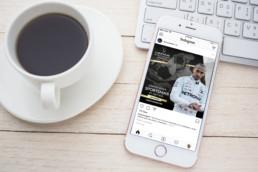 Lewis Hamilton Laureus world sports awards social media instagram post mindcorp london