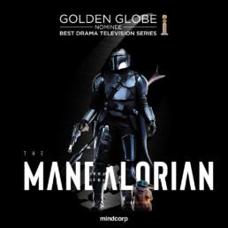 Mandalorian golden globe mindcorp london